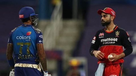 It Was in The Heat of The Moment Says Suryakumar Yadav on 'Stare' Incident With Virat Kohli in IPL 2020