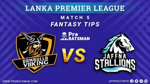 LPL 2020: DV vs JS Dream 11 Fantasy Team Prediction: Dambulla Viiking vs Jaffna Stallions, Probable Playing 11, Pitch Report, Weather Forecast, Squads, Match Updates – November 30, 2020