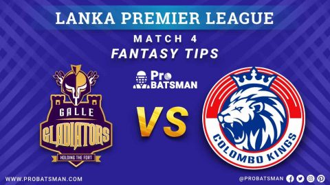 LPL 2020: GG vs CK Dream 11 Fantasy Team Prediction: Galle Gladiators vs Colombo Kings, Probable Playing 11, Pitch Report, Weather Forecast, Squads, Match Updates – November 28, 2020