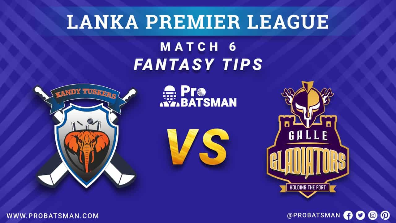 LPL 2020: KT vs GG Dream 11 Fantasy Team Prediction: Kandy Tuskers vs Galle Gladiators, Probable Playing 11, Pitch Report, Weather Forecast, Squads, Match Updates – November 30, 2020