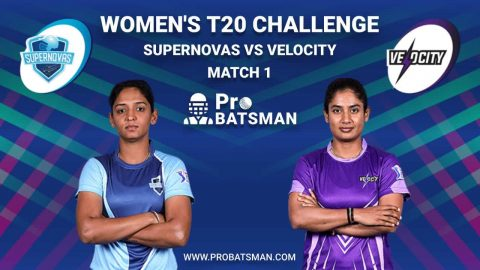 Women's T20 Challenge Dream 11 Fantasy Team: Supernovas vs Velocity, Probable Playing 11, Pitch Report, Weather Forecast, Captain, Head-to-Head, Squads, Match Updates – November 4, 2020