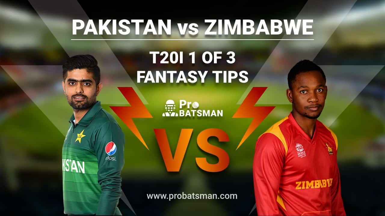 PAK vs ZIM Dream 11 Fantasy Team: Pakistan vs Zimbabwe, Probable Playing 11, Pitch Report, Weather Forecast, Captain, Squads, Match Updates – November 7, 2020
