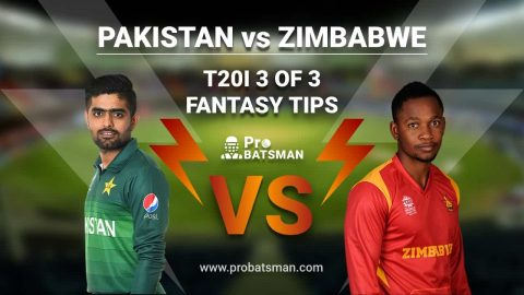 PAK vs ZIM 3rd T20I Dream 11 Fantasy Team: Pakistan vs Zimbabwe, Probable Playing 11, Pitch Report, Weather Forecast, Captain, Squads, Match Updates – November 10, 2020