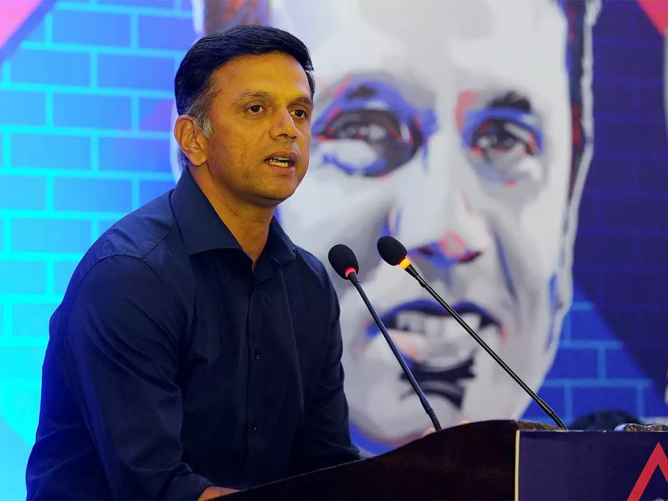 Rahul Dravid Backs T20 Cricket to Become Olympic Sport