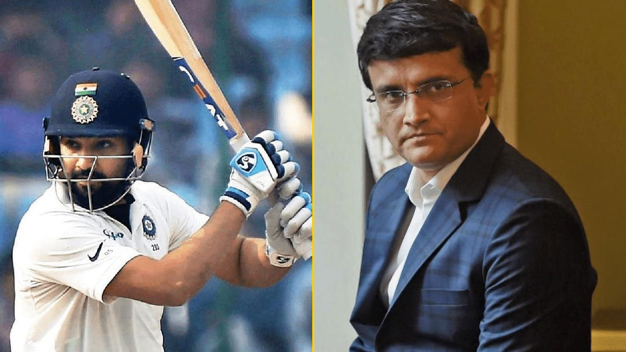 Rohit Sharma is Still Just 70 Per Cent Fit Sourav Ganguly