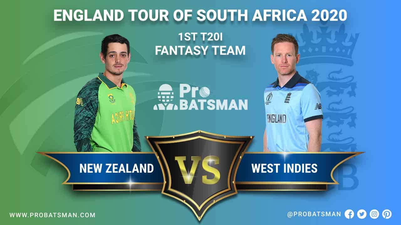 SA vs ENG 1st T20I Dream 11 Fantasy Team Prediction, Probable Playing 11, Pitch Report, Weather Forecast, Squads, Match Updates – November 27, 2020