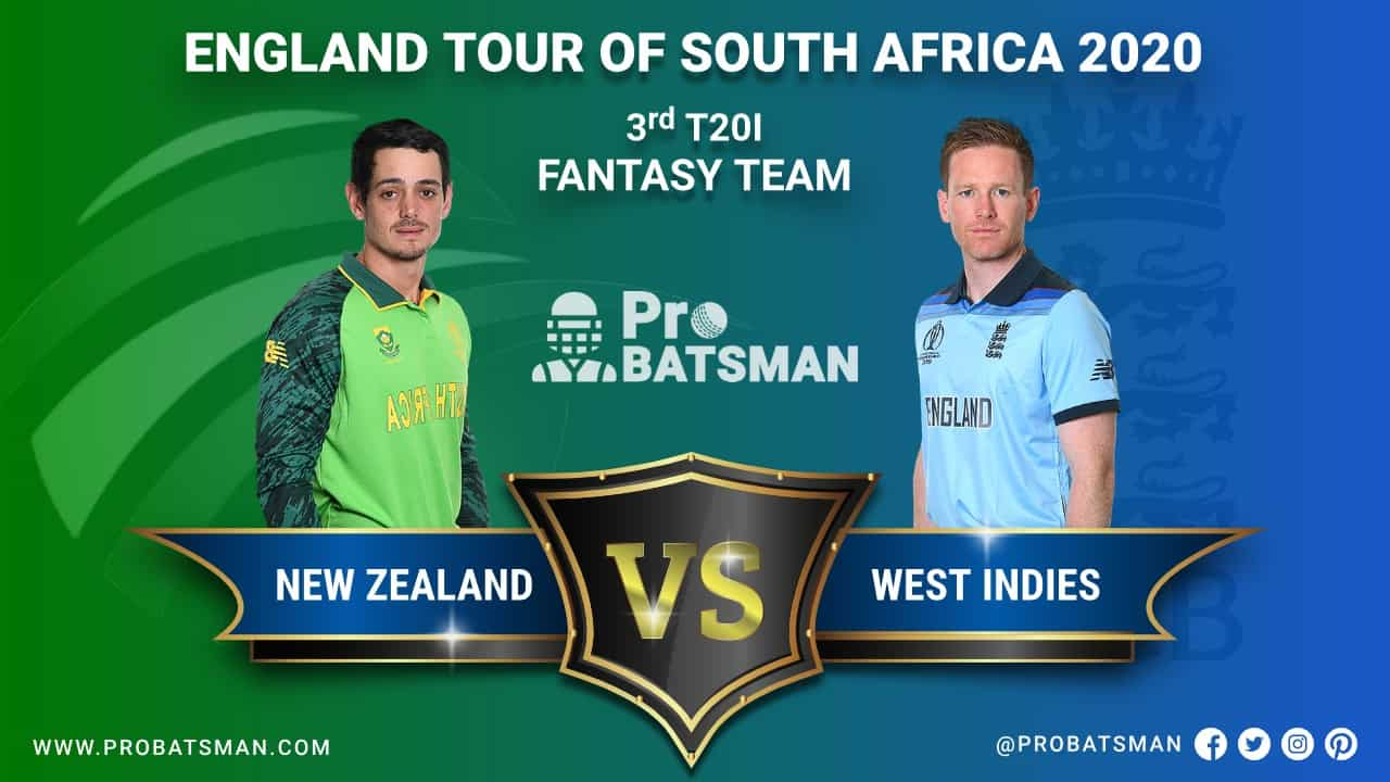 SA vs ENG 3rd T20I Dream 11 Fantasy Team Prediction, Probable Playing 11, Pitch Report, Weather Forecast, Squads, Match Updates – December 01, 2020