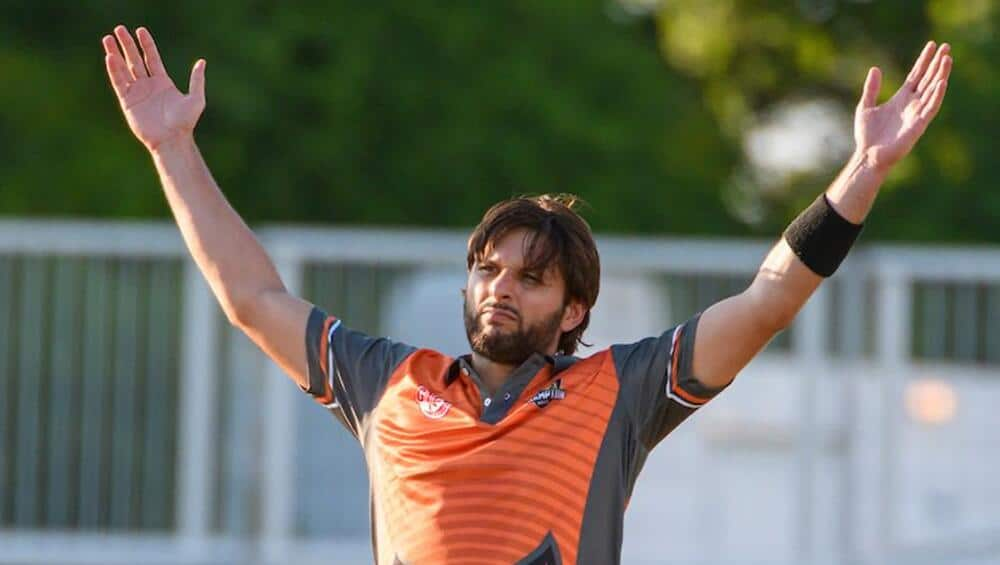 Shahid Afridi Appointed as The Skipper of Galle Gladiators in LPL 2020