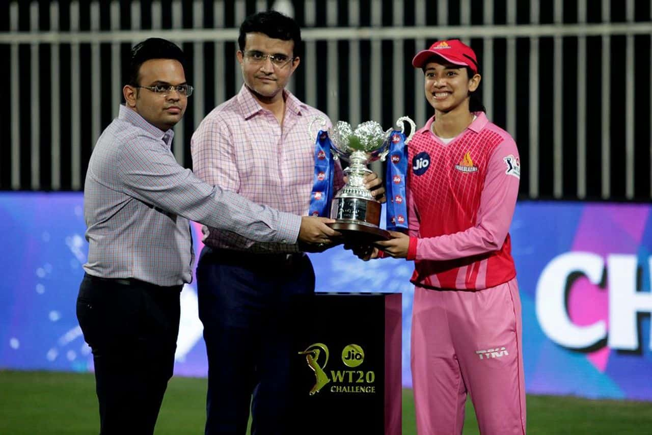 """WT20 Challenge The Final TRL vs SPN – Who Said What: """" From the first ball, I felt we could do it"""" -Smriti Mandhana After Winning WT20C Championship"""
