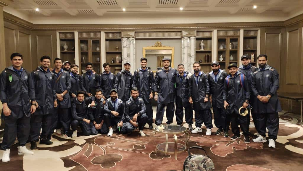 Team India Leaves For Australia Tour After IPL 2020