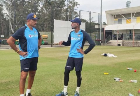 Team India head coach Ravi Shastri is happy to be back in action with the players ahead of the much-awaited tour down under.