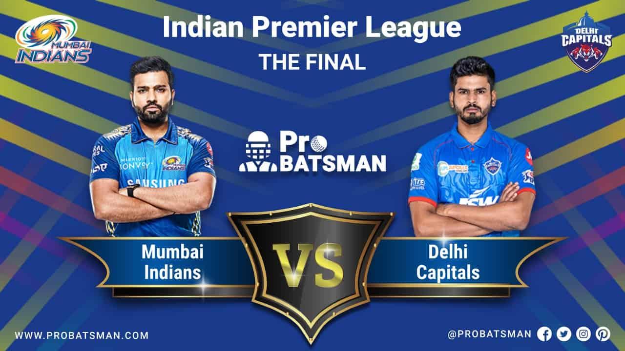 IPL 2020 MI vs DC Final Match Dream 11 Fantasy Team Prediction: Mumbai Indians vs Delhi Capitals, Probable Playing 11, Pitch Report, Weather Forecast, Captain, Head-to-Head, Squads, Match Updates – November 10, 2020