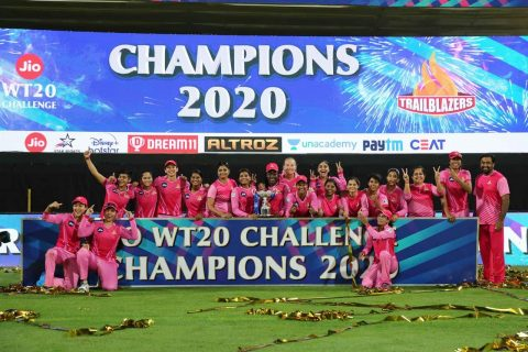 Trailblazers Won Women's T20 Challenge 2020, Defeating Supernovas by 16 Runs in The Final