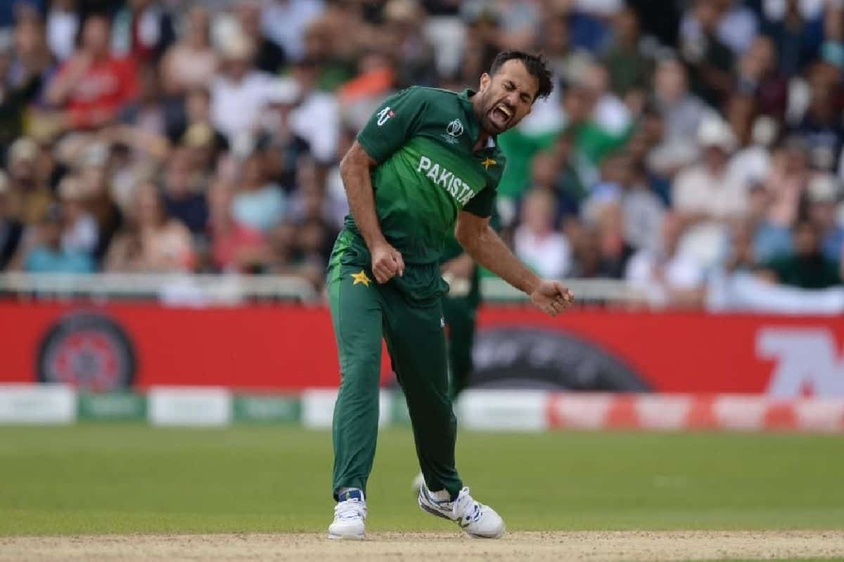 PAK vs ZIM: Wahab Riaz Receives Warning From Umpires For Breaking ICC's COVID-19 Rules