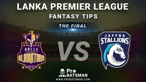 GG vs JS LPL Final Dream11 Fantasy Prediction: Playing 11, Pitch Report, Weather Forecast, Head-to-Head, Match Updates – Lanka Premier League 2020