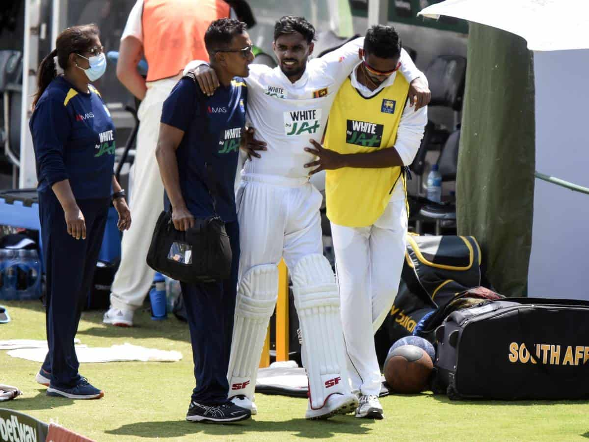 SA vs SL: Injured Dhananjaya de Silva Ruled out of Test Series With a Thigh Strain
