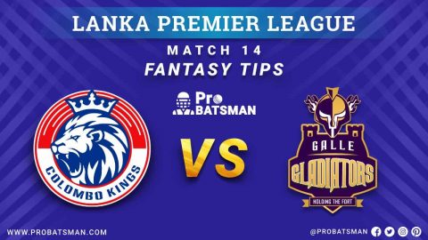 LPL 2020: CK vs GG Dream 11 Fantasy Team Prediction: Colombo Kings vs Galle Gladiators Probable Playing 11, Pitch Report, Weather Forecast, Squads, Match Updates – December 07, 2020