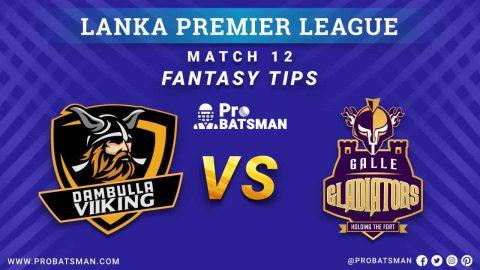 LPL 2020: DV vs GG Dream 11 Fantasy Team Prediction: Dambulla Viiking vs Galle Gladiators Probable Playing 11, Pitch Report, Weather Forecast, Squads, Match Updates – December 05, 2020