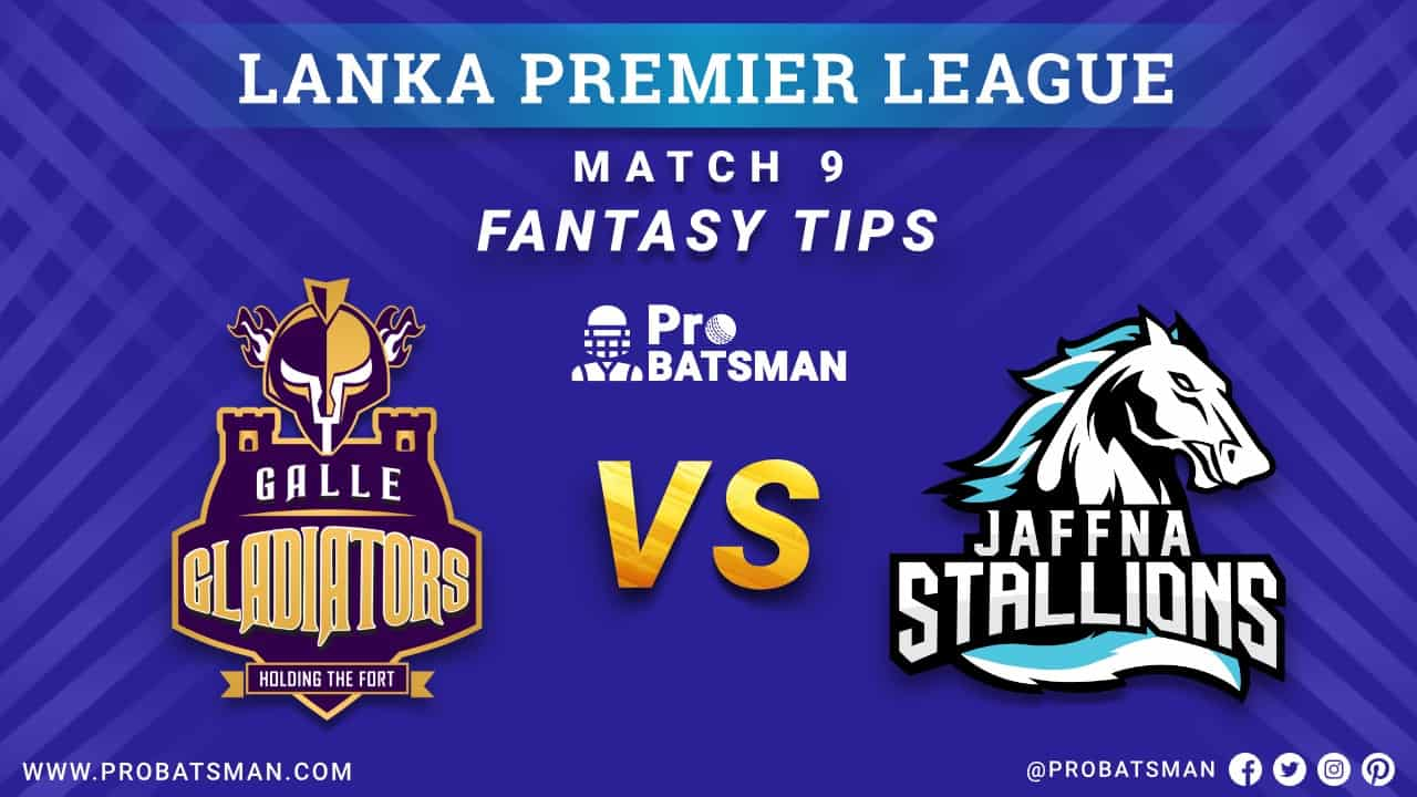 LPL 2020: GG vs JS Dream 11 Fantasy Team Prediction: Galle Gladiators vs Jaffna Stallions Probable Playing 11, Pitch Report, Weather Forecast, Squads, Match Updates – December 03, 2020