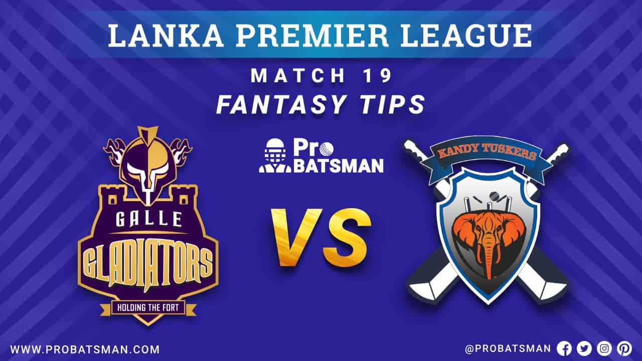LPL 2020: GG vs KT Dream 11 Fantasy Team Prediction: Galle Gladiators vs Kandy Tuskers Probable Playing 11, Pitch Report, Weather Forecast, Squads, Match Updates – December 10, 2020