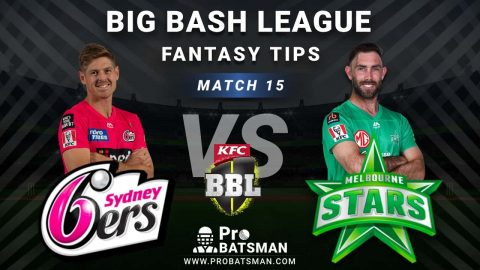 SIX vs STA Dream11 Fantasy Predictions: Playing 11, Pitch Report, Weather Forecast, Head-to-Head, Best Picks, Match Updates – BBL 2020-21