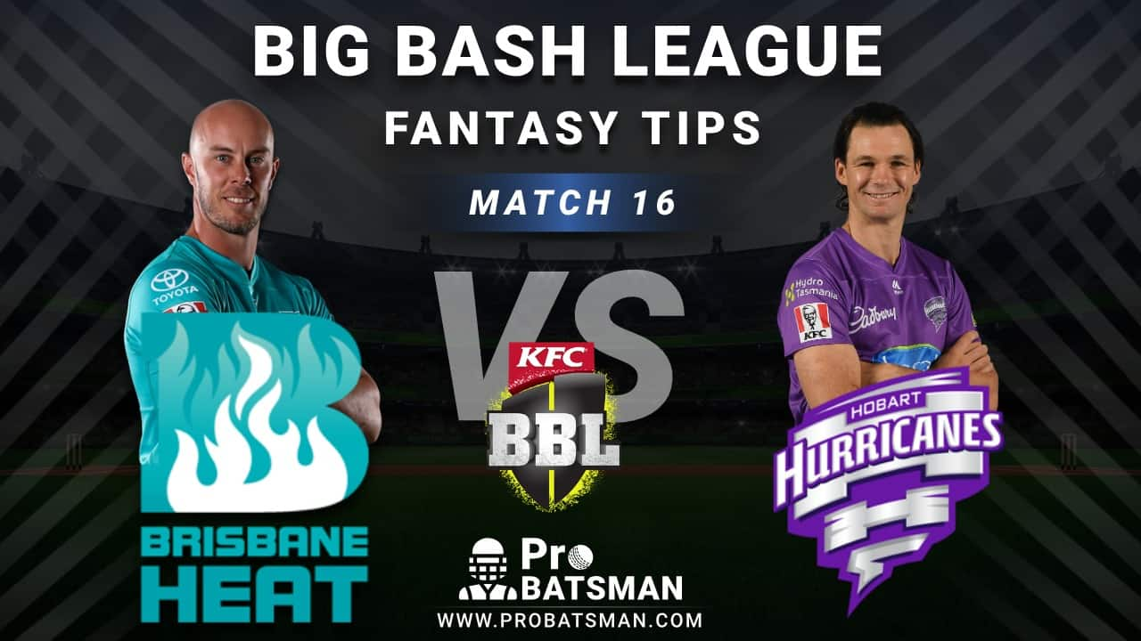 HEA vs HUR Dream11 Fantasy Predictions: Playing 11, Pitch Report, Weather Forecast, Head-to-Head, Best Picks, Match Updates – BBL 2020-21
