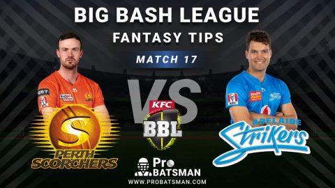 SCO vs STR Dream11 Fantasy Predictions: Playing 11, Pitch Report, Weather Forecast, Head-to-Head, Best Picks, Match Updates – BBL 2020-21
