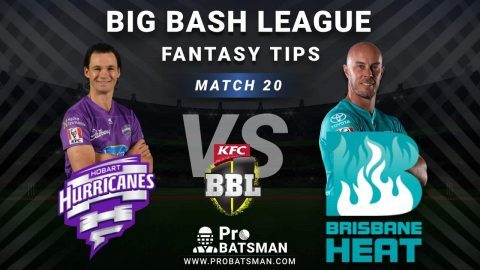 HUR vs HEA Dream11 Fantasy Predictions: Playing 11, Pitch Report, Weather Forecast, Head-to-Head, Best Picks, Match Updates – BBL 2020-21