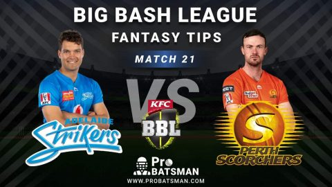 STR vs SCO Dream11 Fantasy Predictions: Playing 11, Pitch Report, Weather Forecast, Head-to-Head, Best Picks, Match Updates – BBL 2020-21