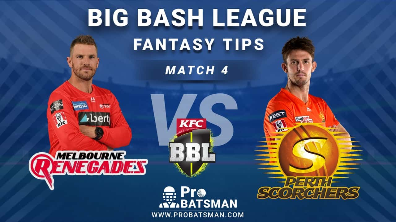 REN vs SCO Dream11 Fantasy Predictions: Playing 11, Pitch Report, Weather Forecast, Head-to-Head, Match Updates – BBL 2020-21