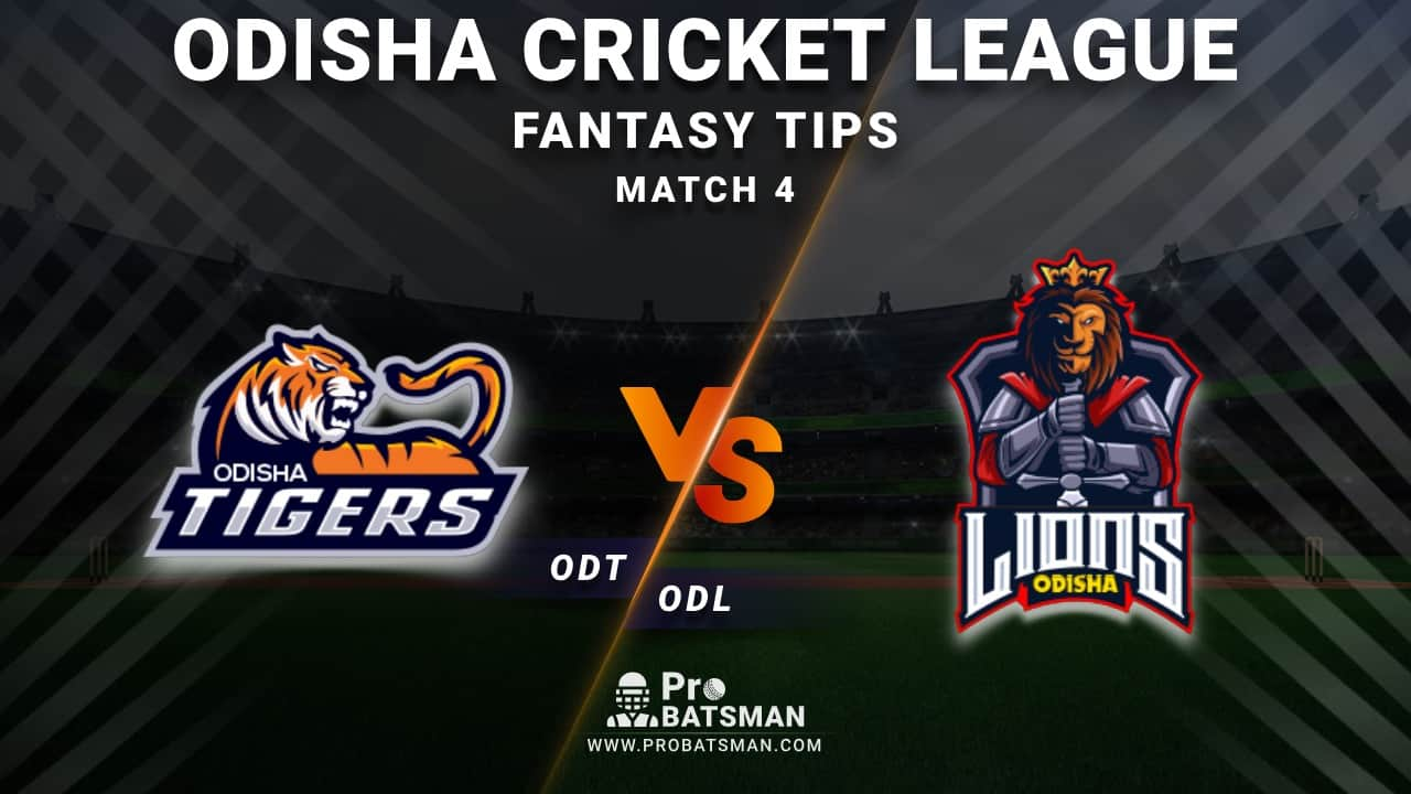 ODT vs ODL Dream11 Fantasy Predictions: Playing 11, Pitch Report, Weather Forecast, Head-to-Head, Best Picks, Match Updates – Odisha Cricket League 2020-21