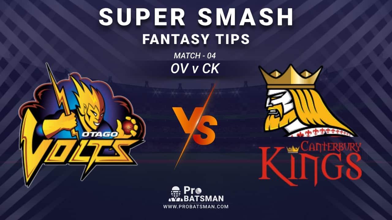 OV vs CK Dream11 Fantasy Prediction: Playing 11, Pitch Report, Weather Forecast, Stats, Squads, Top Picks, Match Updates – Super Smash 2020-21