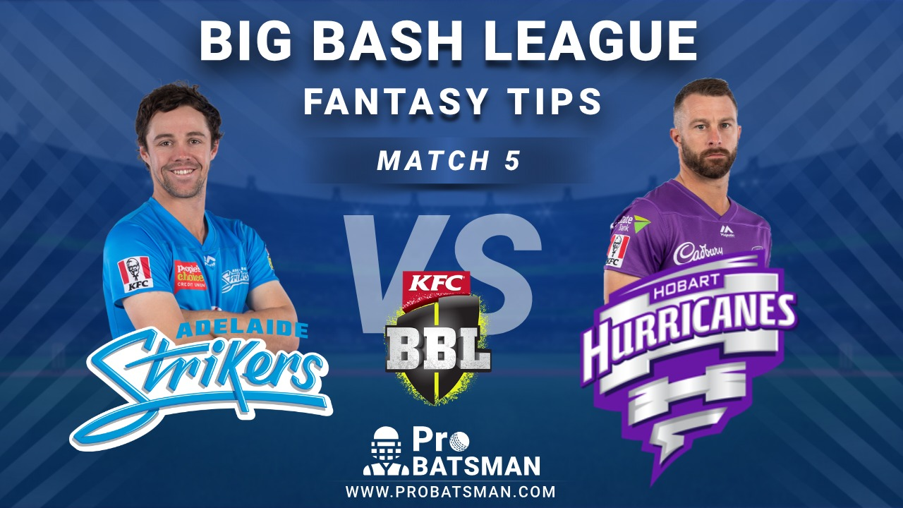 STR vs HUR Dream11 Fantasy Predictions: Playing 11, Pitch Report, Weather Forecast, Head-to-Head, Match Updates – BBL 2020-21