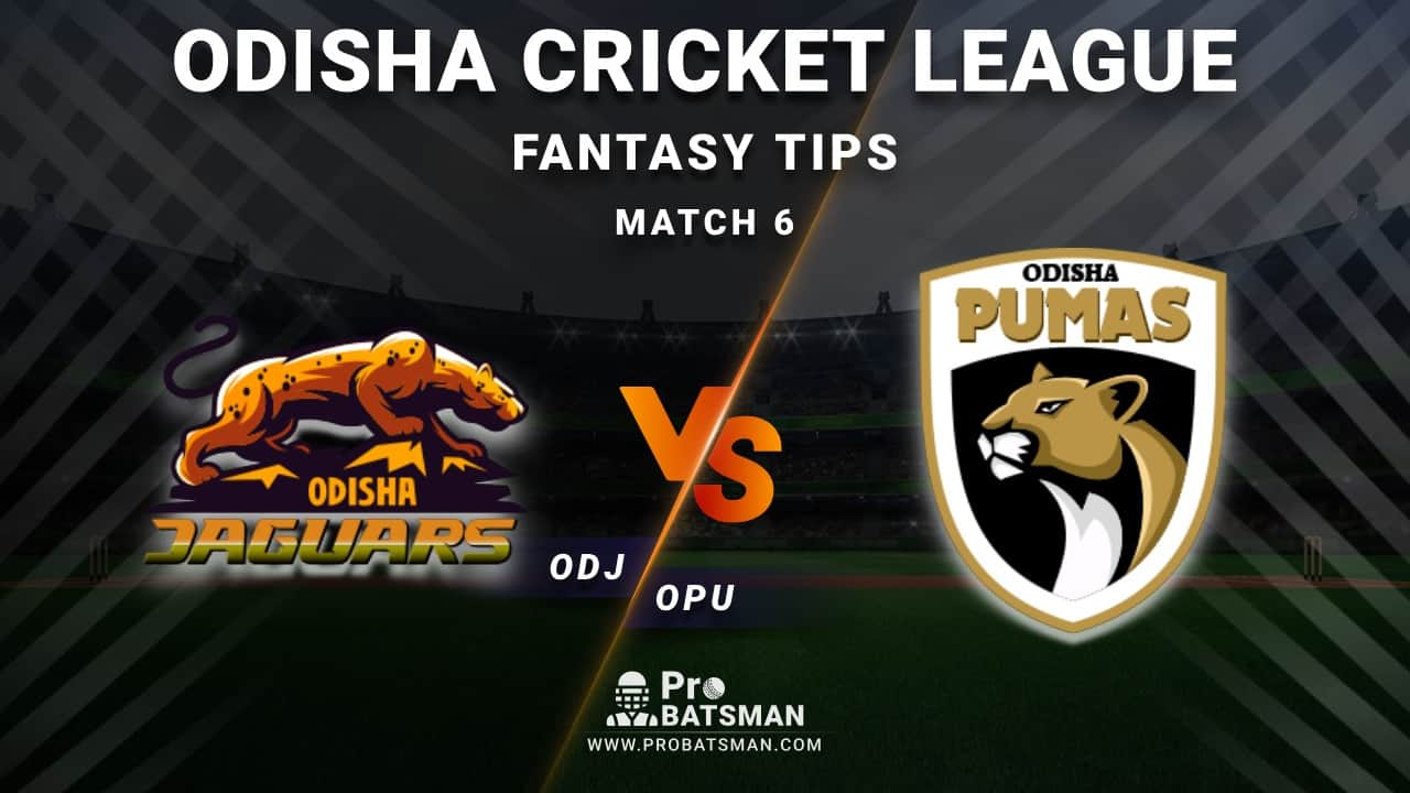 ODJ vs OPU Dream11 Fantasy Predictions: Playing 11, Pitch Report, Weather Forecast, Head-to-Head, Best Picks, Match Updates – Odisha Cricket League 2020-21