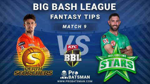 SCO vs STA Dream11 Fantasy Predictions: Playing 11, Pitch Report, Weather Forecast, Head-to-Head, Match Updates – BBL 2020-21