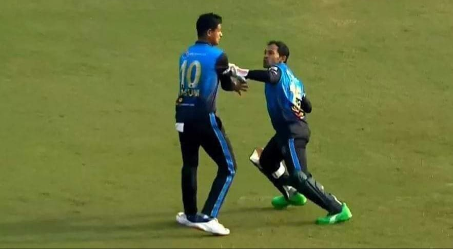Mushfiqur Rahim Loses His Cool, Almost Hits His Teammate on The Field