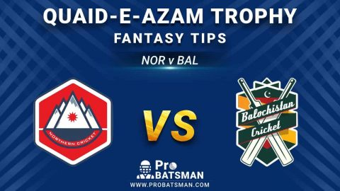 NOR vs BAL Dream11 Fantasy Prediction: Playing 11, Pitch Report, Weather Forecast, Stats, Squads, Match Updates – Quaid-e-Azam Trophy 2020-21
