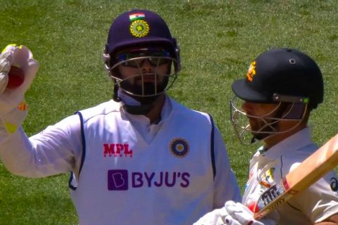 IND vs AUS: The Wade-Pant Verbals Arguments on The Ground