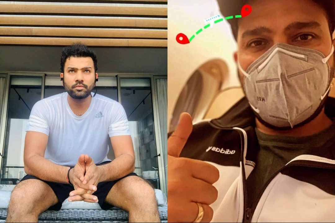 Rohit Sharma Arrives Australian For Last Two Tests