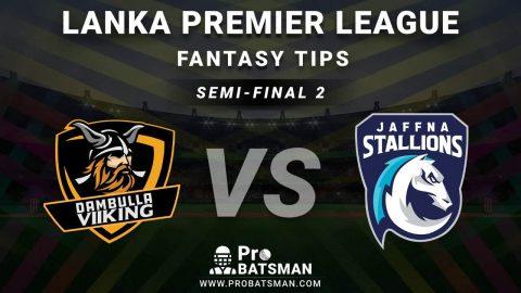 DV vs JF Semi-Final 2 Dream11 Fantasy Predictions: Playing 11, Pitch Report, Weather Forecast, Head-to-Head, Match Updates – Lanka Premier League (LPL) 2020