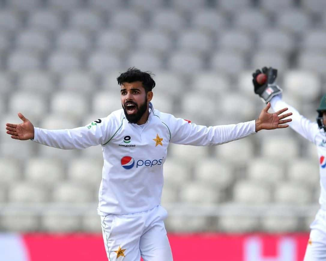 Shadab Khan Ruled Out of Test Series' Against New Zealand & South Africa
