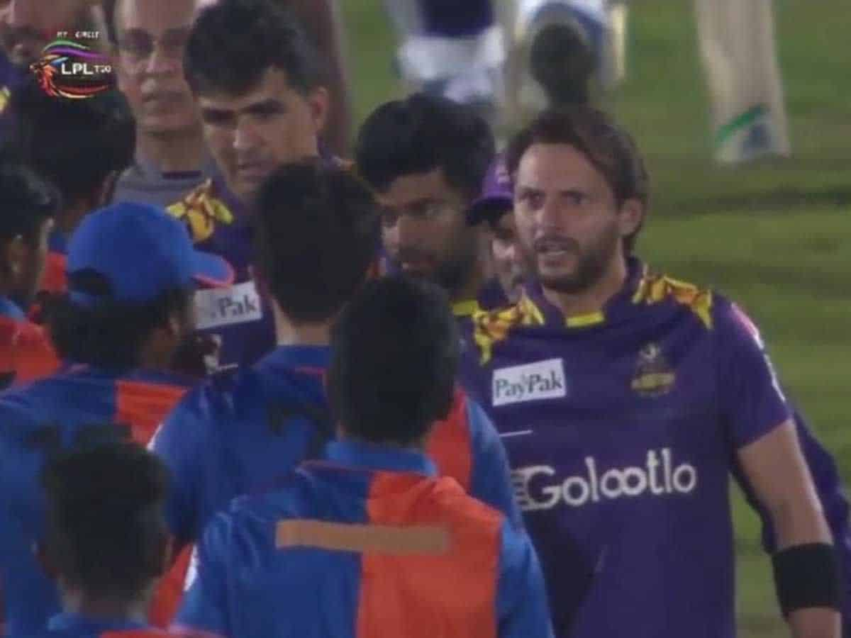 LPL 2020: Shahid Afridi Lashes Out At Afghanistan Pacer Naveen Ul Haq For Abusing Mohammad Amir