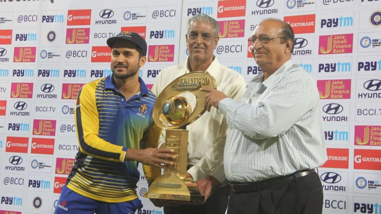 Syed Mushtaq Ali T20 Tournament To Start From January 10, Teams To Assemble on January 2