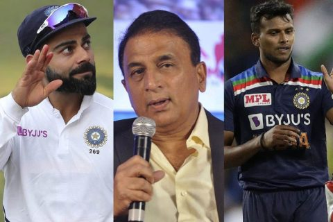 'Different Rules For Different Players': Gavaskar Questions Team Management on Why Natarajan Was Not Given Paternity Leave