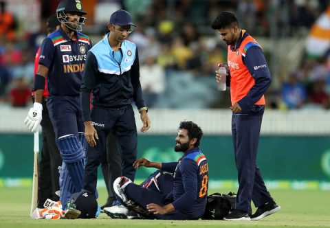 Yuzvendra Chahal Replaces Injured Ravindra Jadeja in First T20 Game