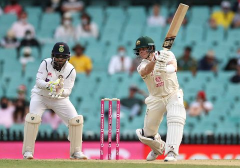 AUS vs IND: Day 1 of 3rd Test - Australia Score 166/2, One Wicket to Saini in Debut Match and Pucovski's Fifty