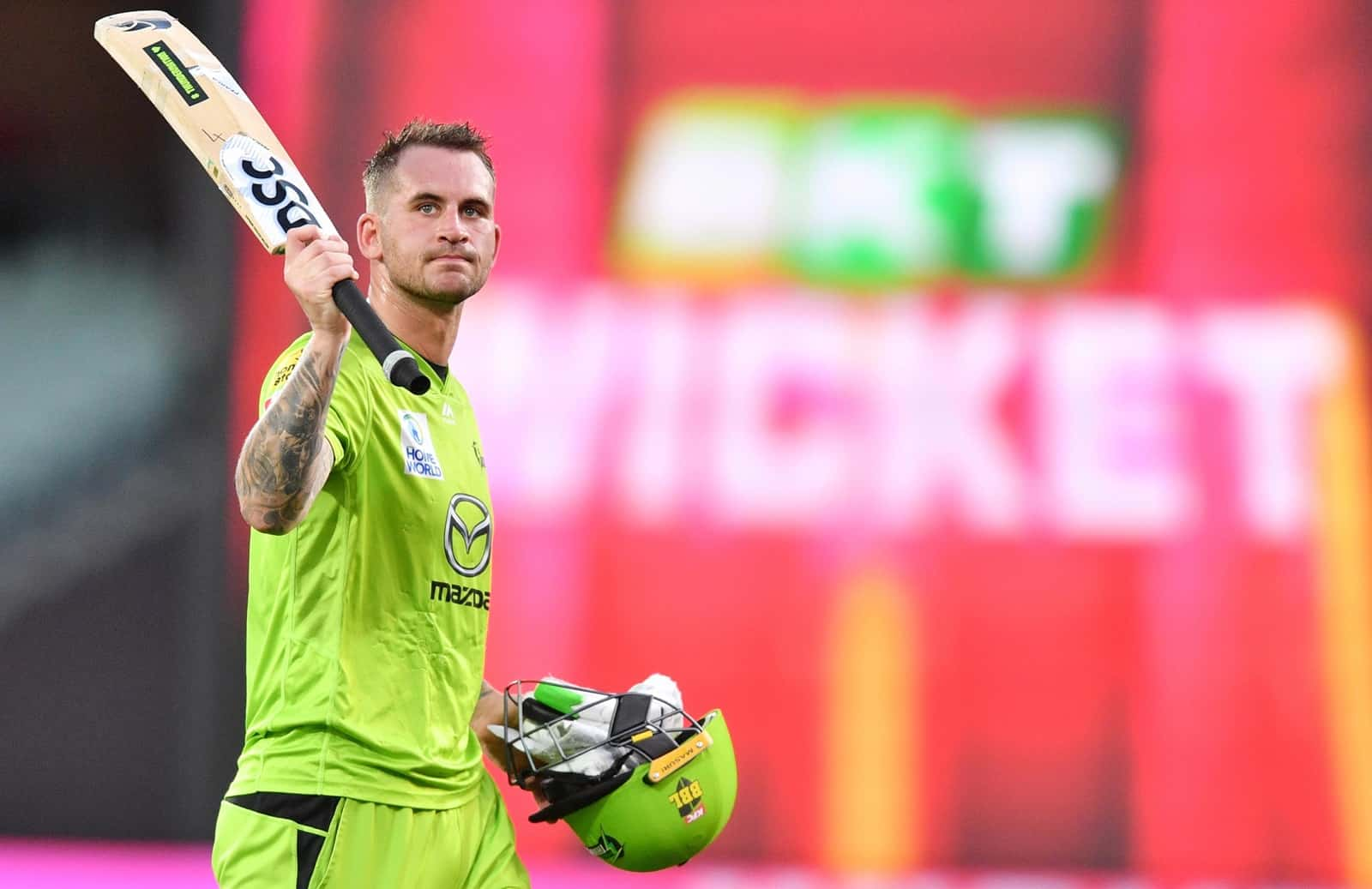 Watch: Alex Hales Scores 51-Ball 100 To Help Sydney Thunder Post Highest BBL Total Ever