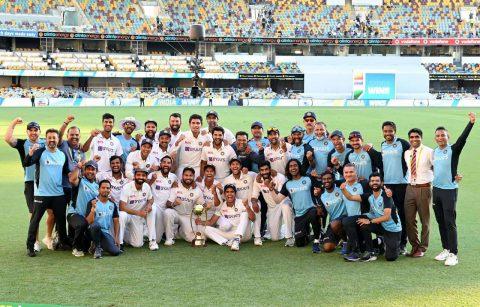 Twitter Reactions: Cricket Fraternity Hails Team India For Winning Border Gavaskar Trophy