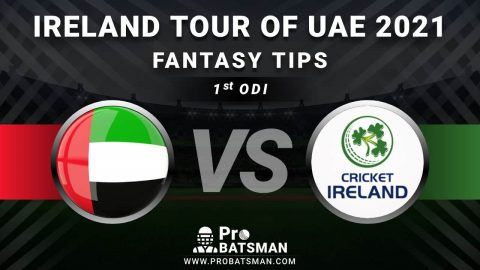 UAE vs IRE 1st ODI Dream11 Fantasy Predictions: Playing 11, Pitch Report, Weather Forecast, Head-to-Head, Match Updates – Ireland Tour of United Arab Emirates 2021