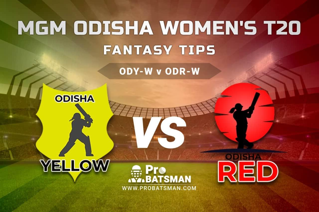 ODY-W vs ODR-W Dream11 Fantasy Predictions: Playing 11, Pitch Report, Weather Forecast, Match Updates - MGM Odisha Women's T20 2021, Match 17